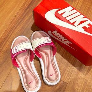 Nike Pink Comfort Slides